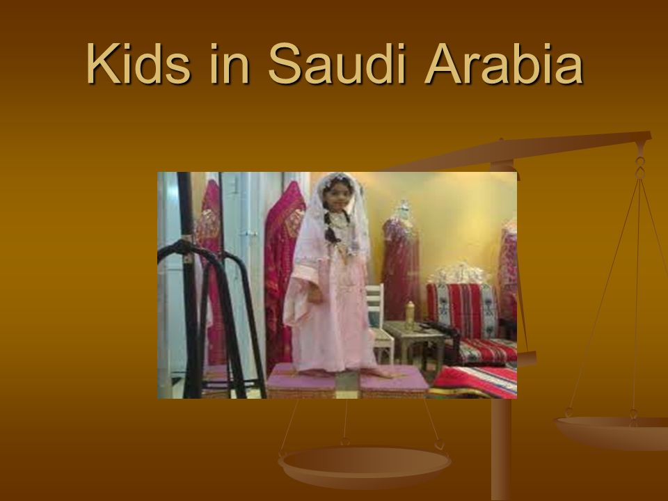 Kids in Saudi Arabia