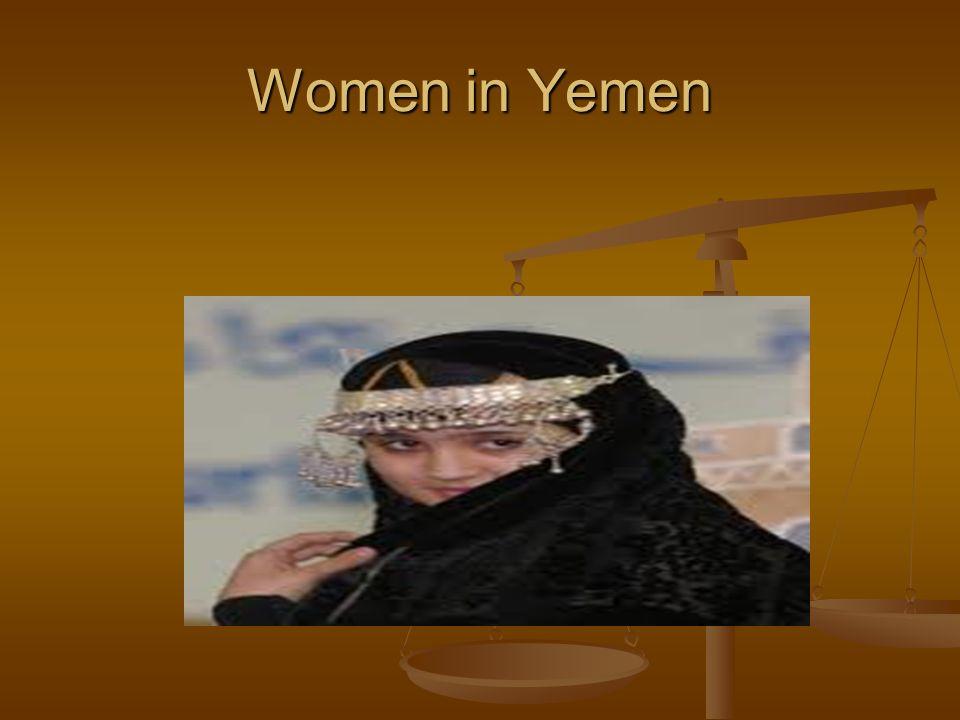 Women in Yemen