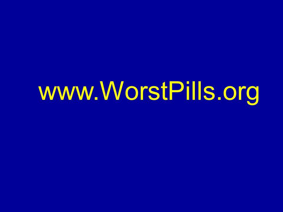 www.WorstPills.org
