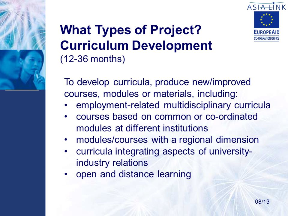 What Types of Project.