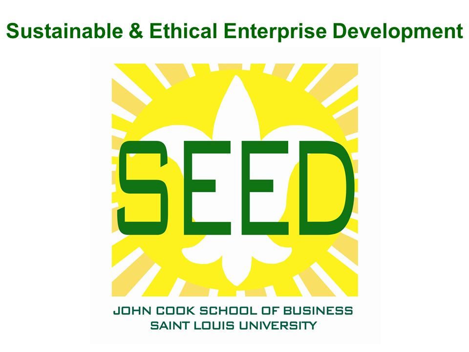 Sustainable & Ethical Enterprise Development