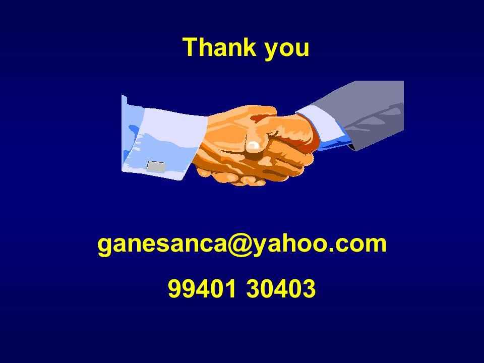 ganesanca@yahoo.com 99401 30403 Thank you