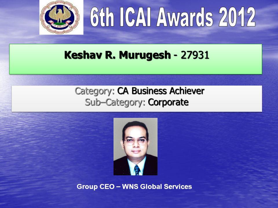 Keshav R. Murugesh - 27931 Keshav R.
