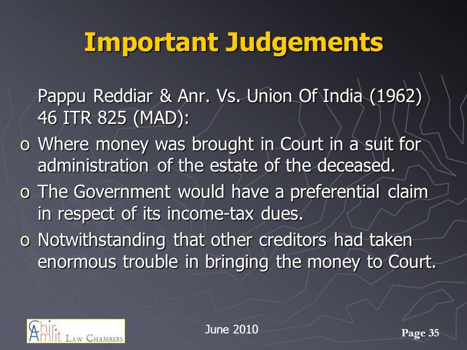 Page 35 Important Judgements Pappu Reddiar & Anr.Vs.