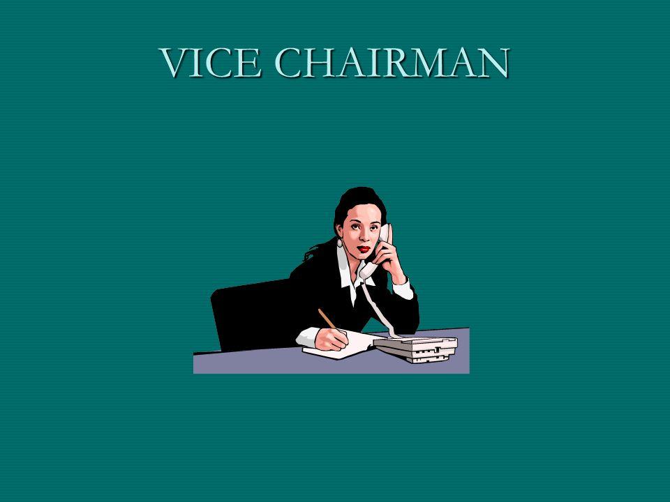 VICE CHAIRMAN