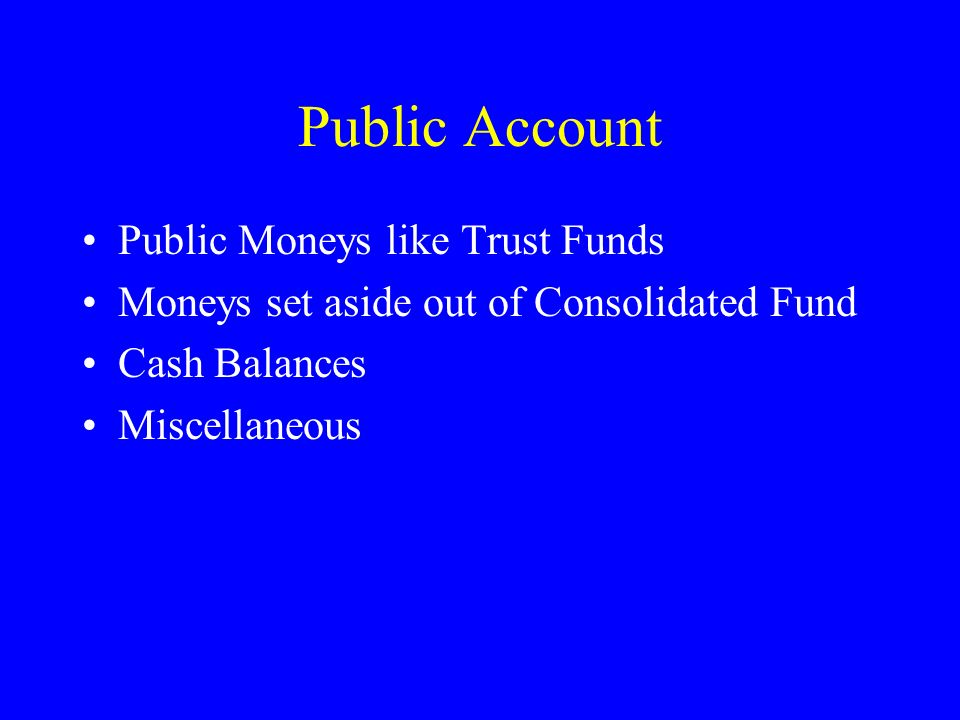 Consolidated Fund Revenue Other than Revenue Receipts ExpenditureCapital Public Debt Loans & Advances ReceiptsExpenditure Appropriations to Contingenc