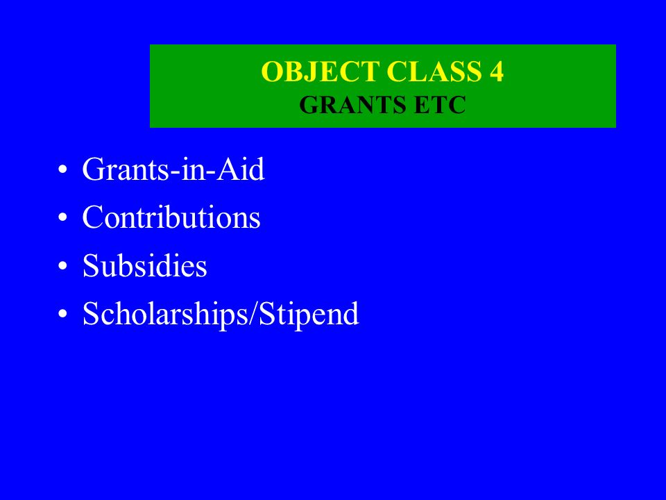 OBJECT CLASS 3 CONTRACTUAL SERVICES AND SUPPLIES Supplies and Materials Arms and Amunition Cost of ration P.O.L. Clothing and Tentage Advertising and