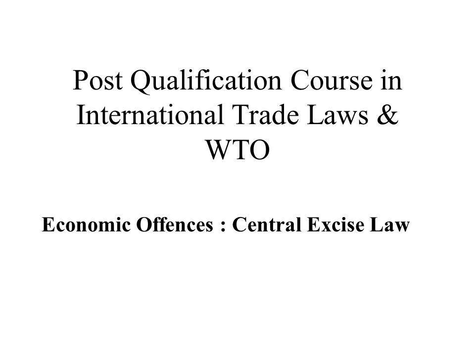 Liberalization : CE Law & Procedure –Audit under section 14 A & 14AA –Excise Audit – 2000