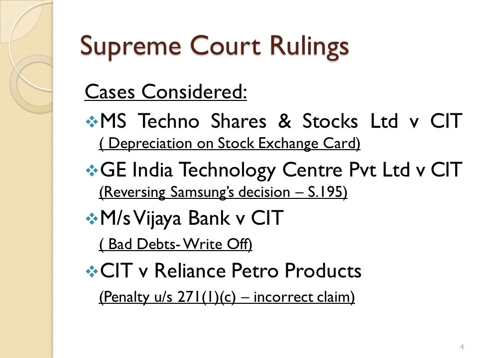 Totgars Co-op Sale Society Ltd v ITO (SC) Facts of the case: Assessee(s) is a cooperative credit society.