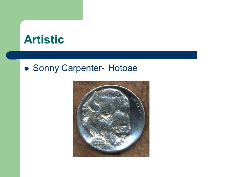 Artistic Sonny Carpenter- Hotoae