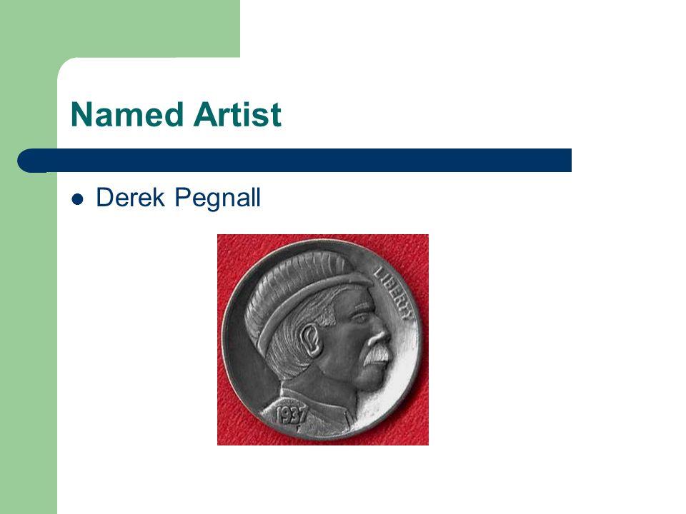 Named Artist Derek Pegnall