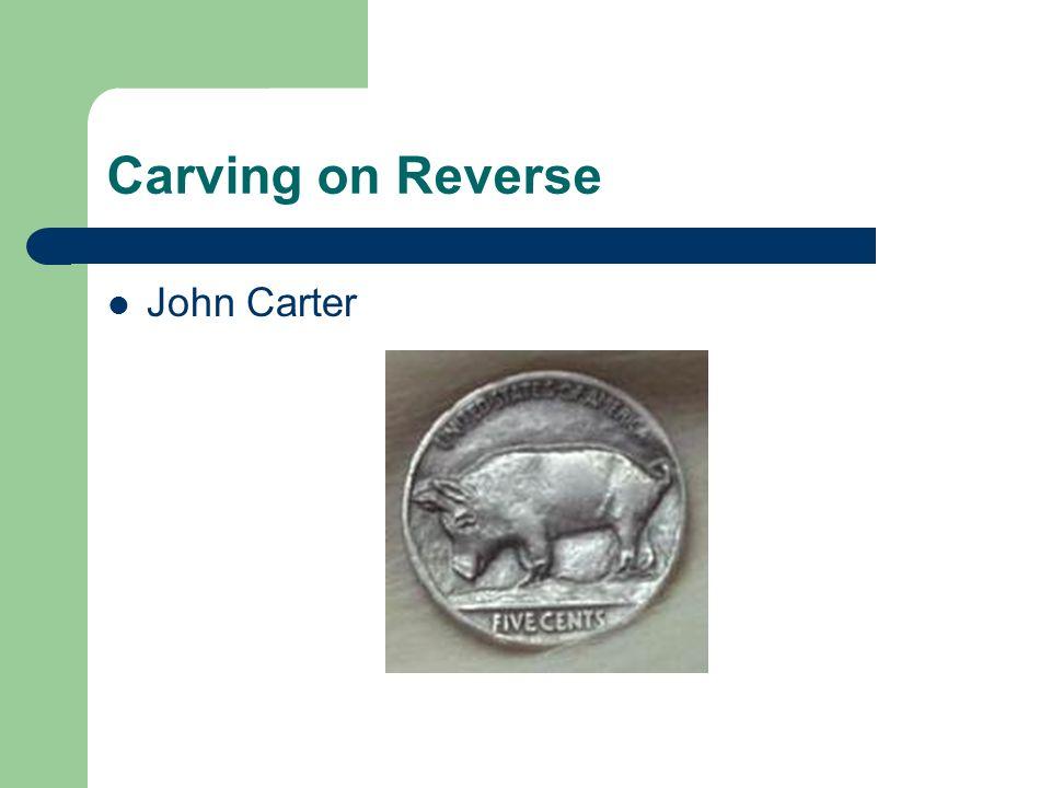 Carving on Reverse John Carter
