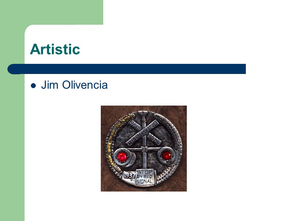 Artistic Jim Olivencia