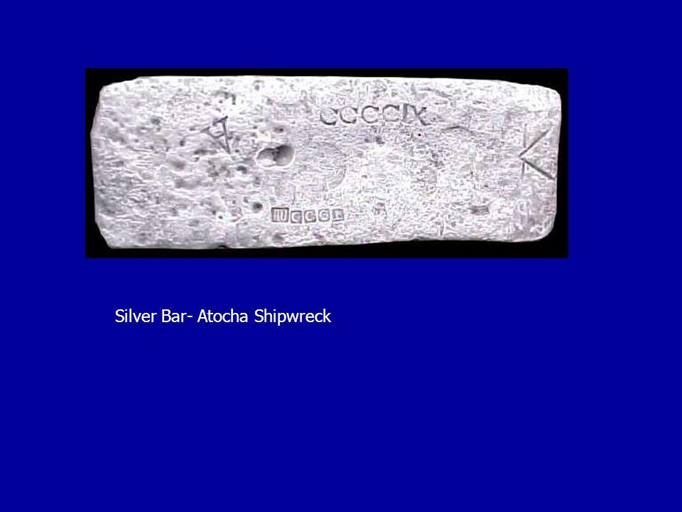 Silver Bar- Atocha Shipwreck