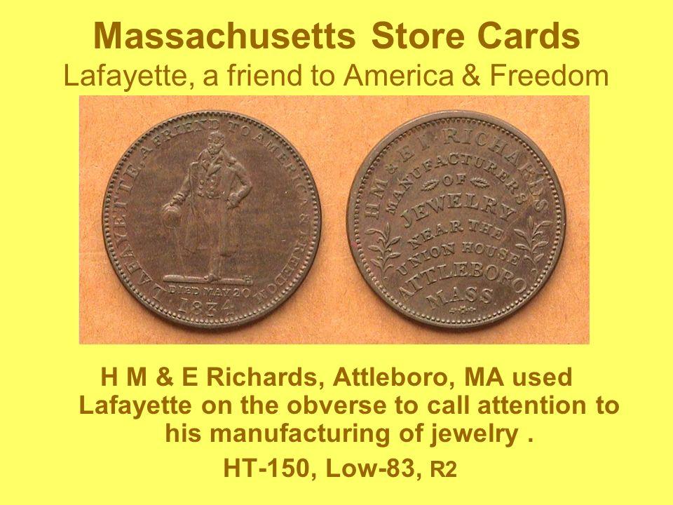 Robinsons Jones & Co.Button Makers American Institute medal award – 1833 Attleboro, Mass.