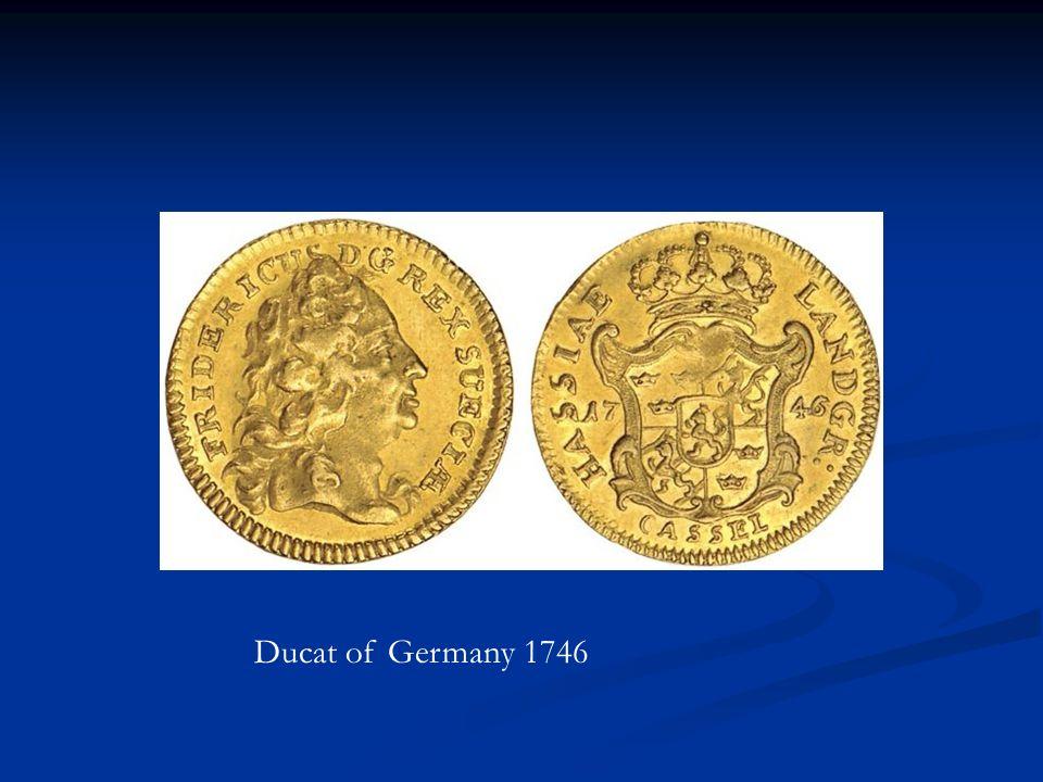 Ducat of Germany 1746