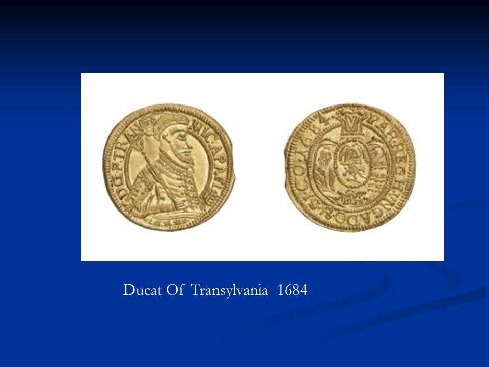 Ducat Of Transylvania 1684