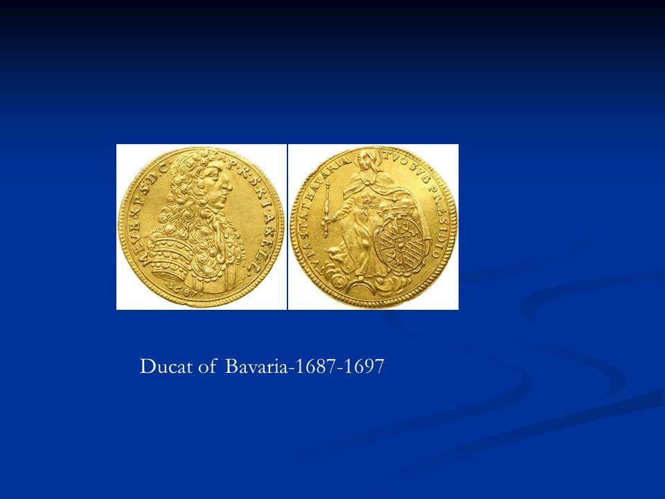 Ducat of Bavaria-1687-1697
