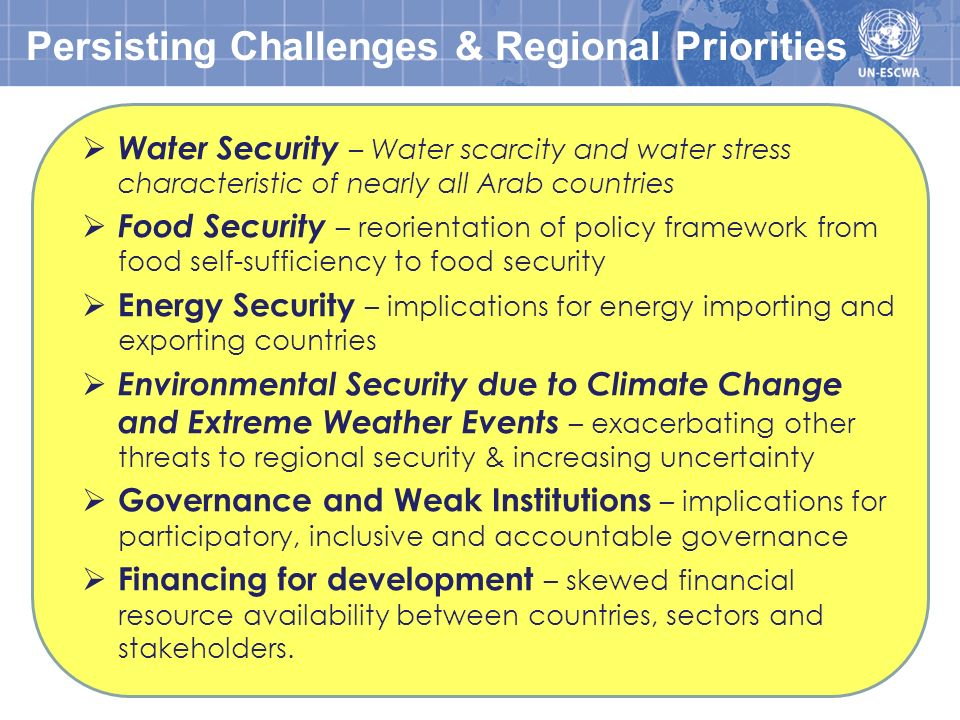 Need to Reinforce & Integrate the Three Pillars of Sustainable Development & its Foundation