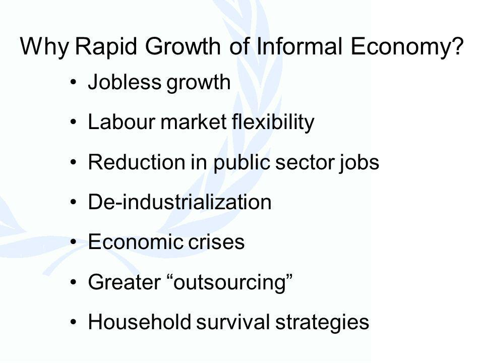 Why Rapid Growth of Informal Economy.