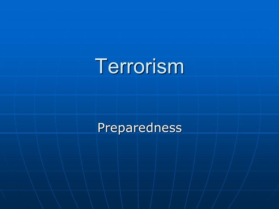Terrorism Preparedness