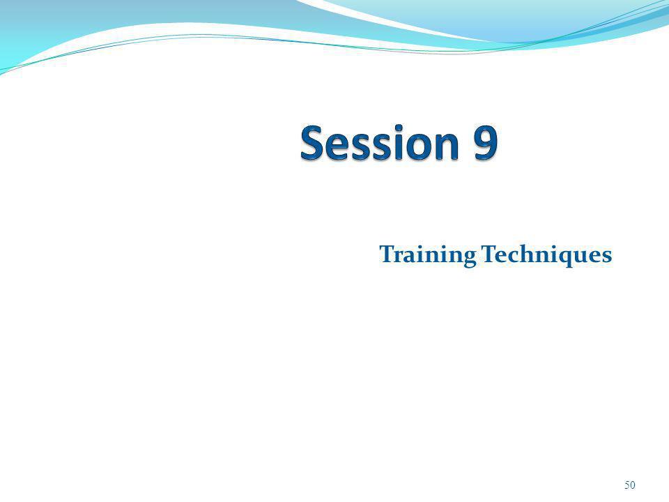 Training Techniques 50