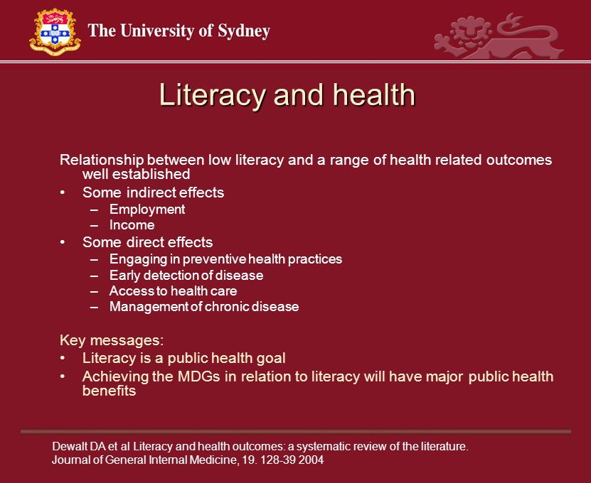 systematic review of supported education literature