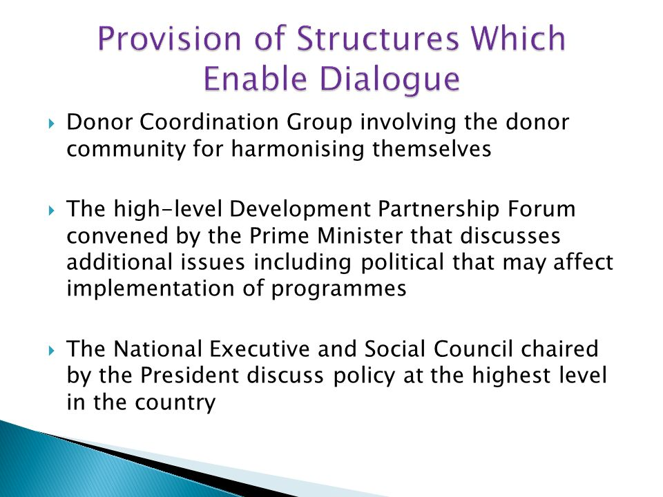 1998, the establishment of the Gender Donor Round Table (GDRT).