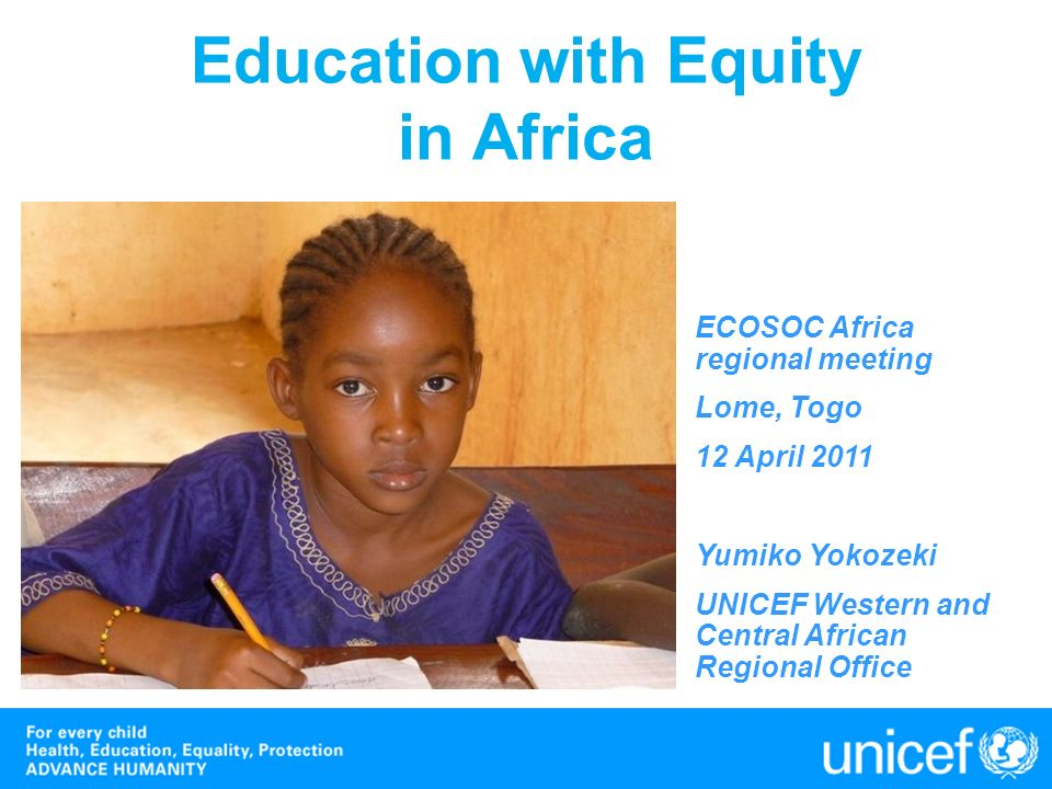 Some good news … In many countries, the gap between the groups in access in primary education is narrowing.