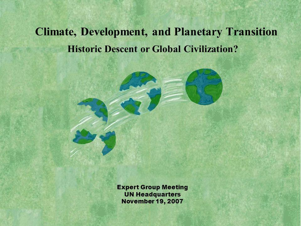 Historic Descent or Global Civilization.