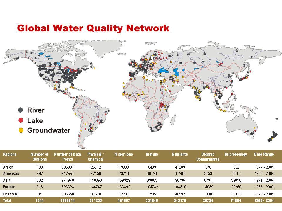 UNEP GEMS/Water Programme Canada, UNEP Nairobi Thank You www.gemswater.org