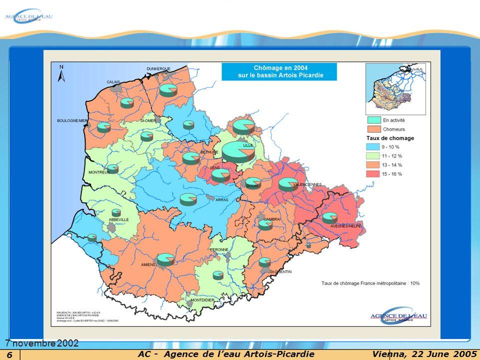 6 AC - Agence de leau Artois-PicardieVienna, 22 June 2005 7 novembre 2002