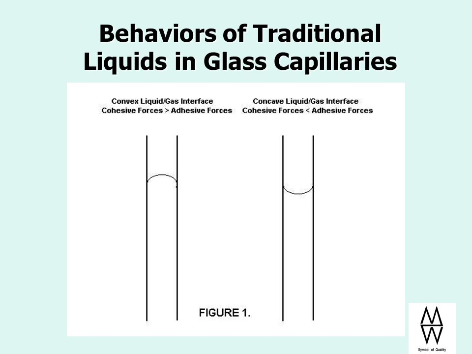 Behaviors of Traditional Liquids in Glass Capillaries