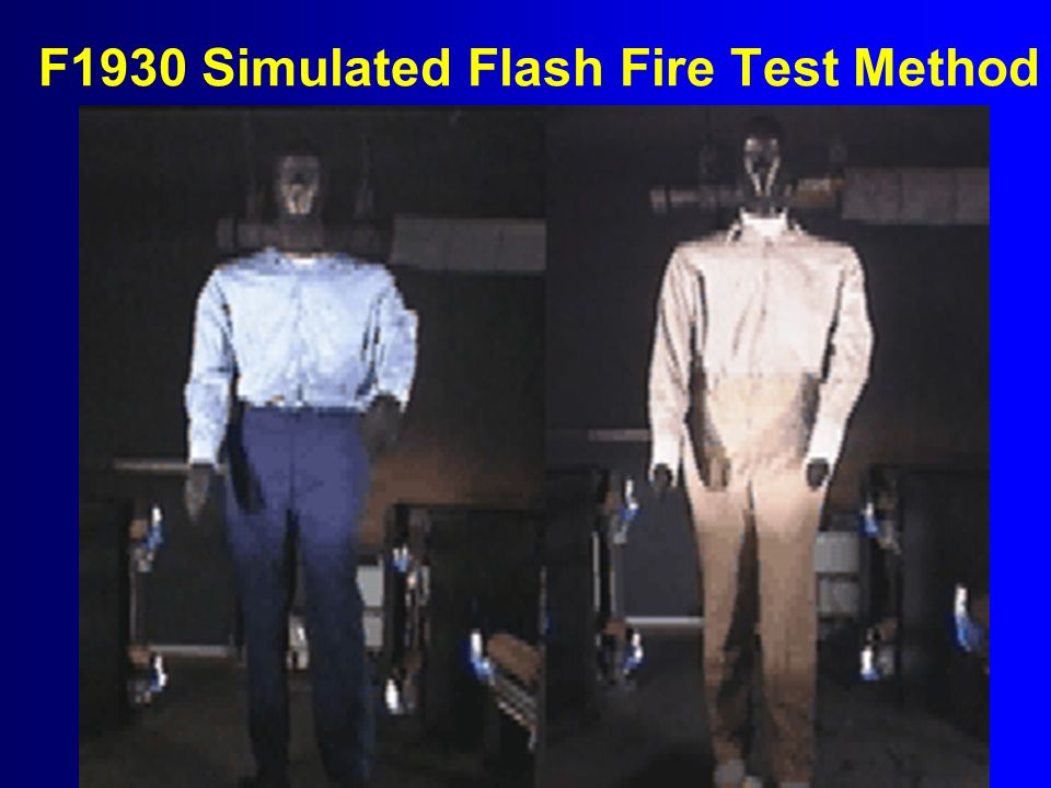 F1930 Simulated Flash Fire Test Method