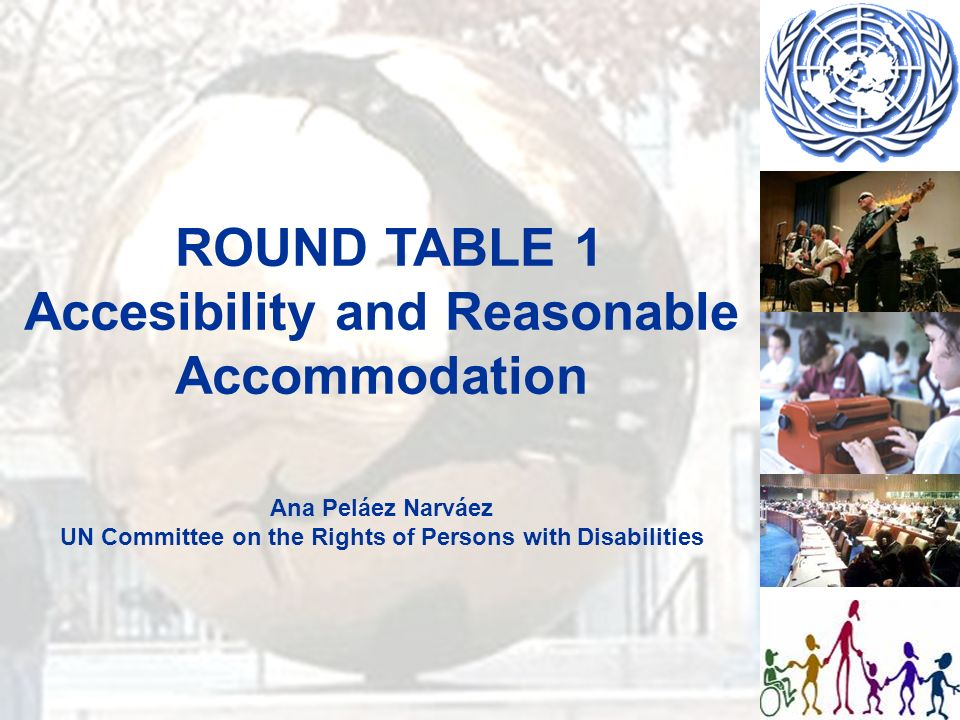 Article 25 Health Legislative and other measures to ensure that health services and technology are accessible for persons with disabilities (hospitals, technical means, communication, comprehensible messages…)
