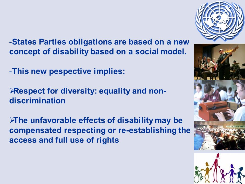 The Convention establishes general guiding principles such as ACCESSIBILITY: Article 9.