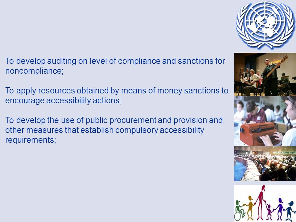 ACCESSIBILITY AS A CROSSCUTTING ISSUE IN THE CRPD