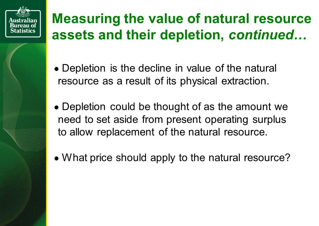 SNA treatment of consumption of fixed capital (CFC) GOS 6,000 Value V1CFC 4,000Value V2 20,000NOS 2,00016,000 Income & CFC = 6000 CFC = GOS – r.V1 = 6000 - 10% * 20000 i.e.