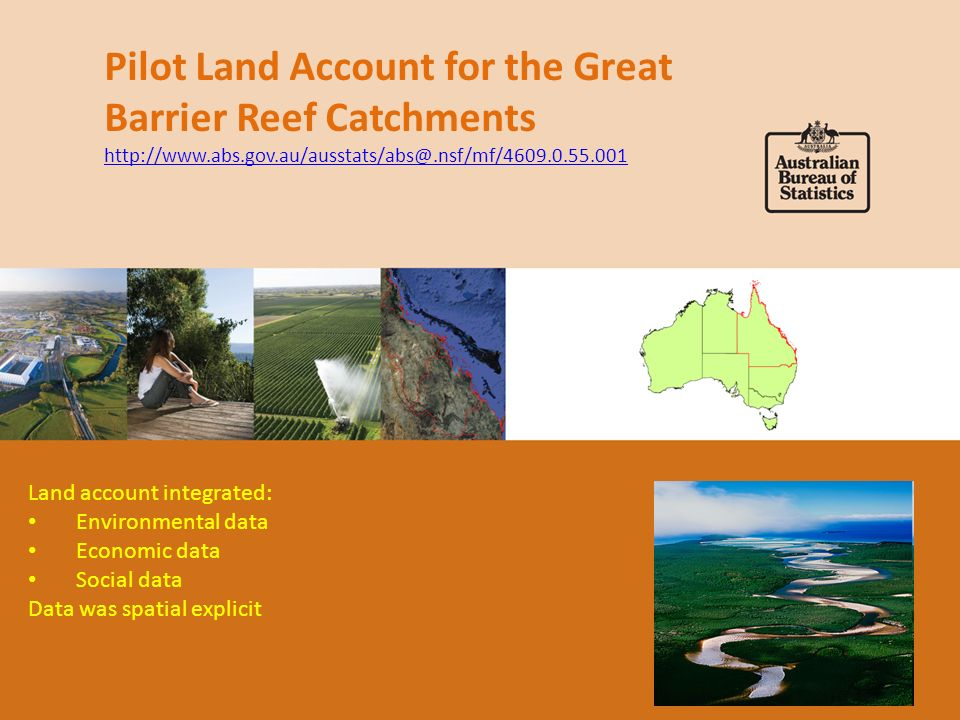 Great Barrier Reef Statistical Area 1 regions Survey forms included maps of individual land parcels