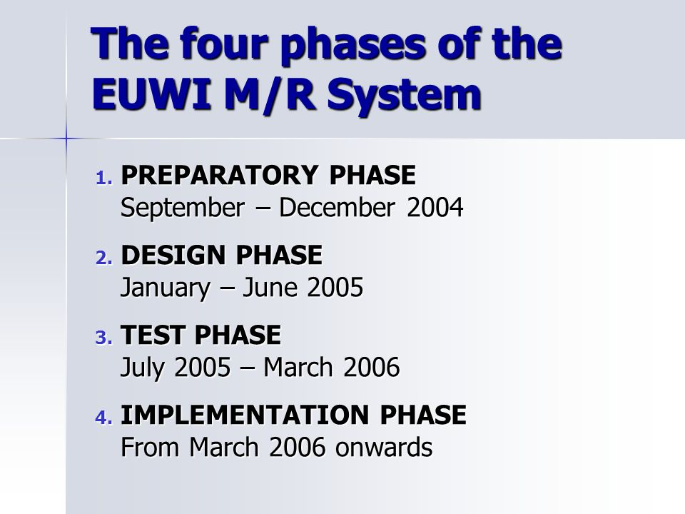 Example: the matrix of the African Component Index of Policy Consistency African Component -> EUWI Objectives = 66%
