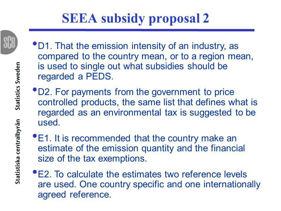 SEEA subsidy proposal 2 D1.