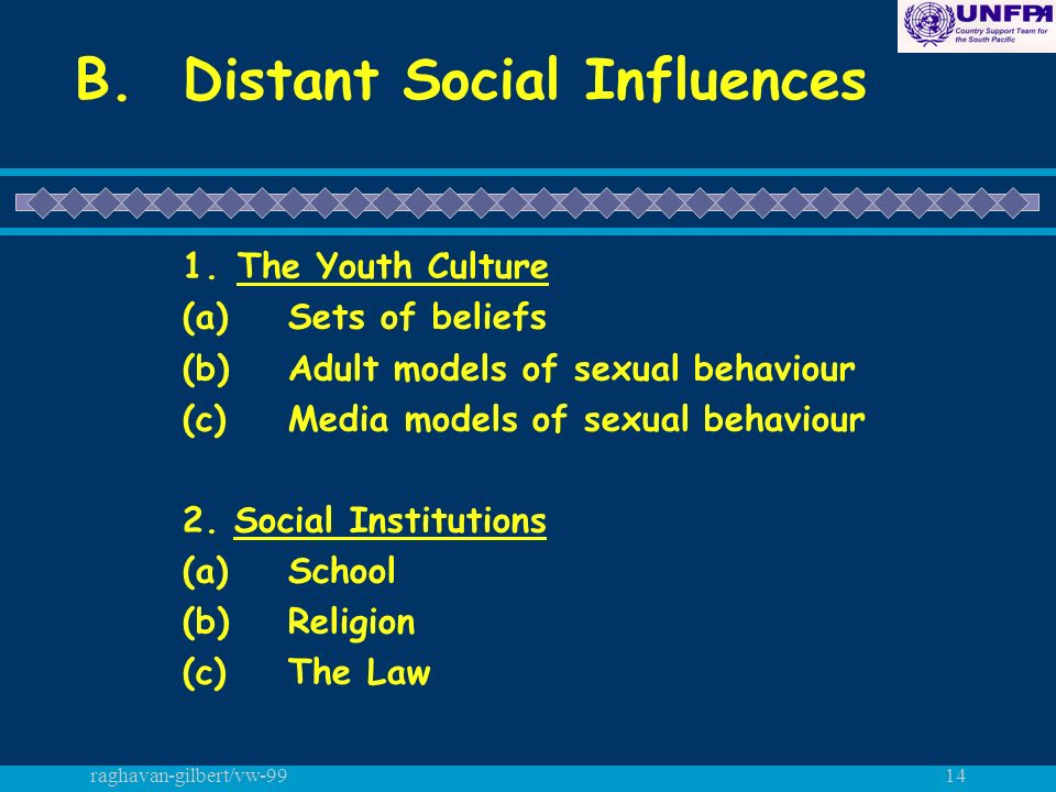 raghavan-gilbert/vw-9914 B. Distant Social Influences 1.