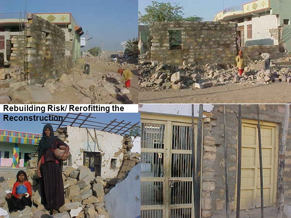 Rebuilding Risk/ Rerofitting the Reconstruction