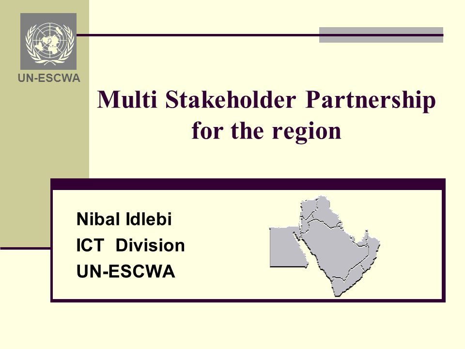 Multi Stakeholder Partnership for the region 1.Concepts & Definition 2.