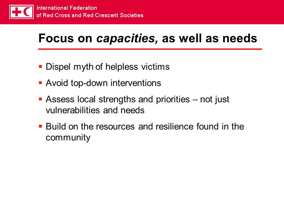 Tsunami: Challenges & Opportunities For the Red Cross/Red Crescent, the tsunami was a call for action.