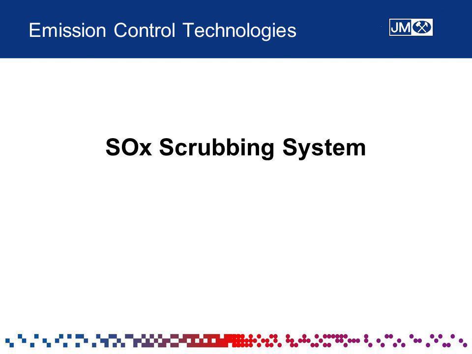 Emission Control Technologies SOx Scrubbing System