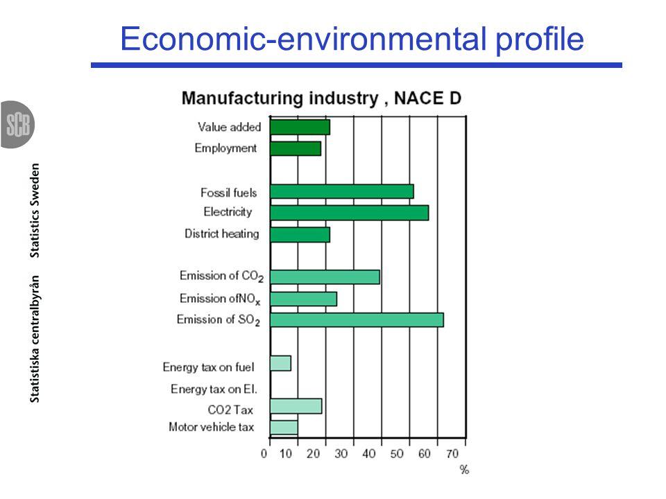 Economic-environmental profile