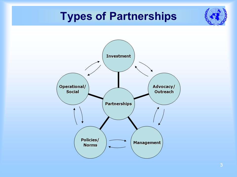 3 Types of Partnerships