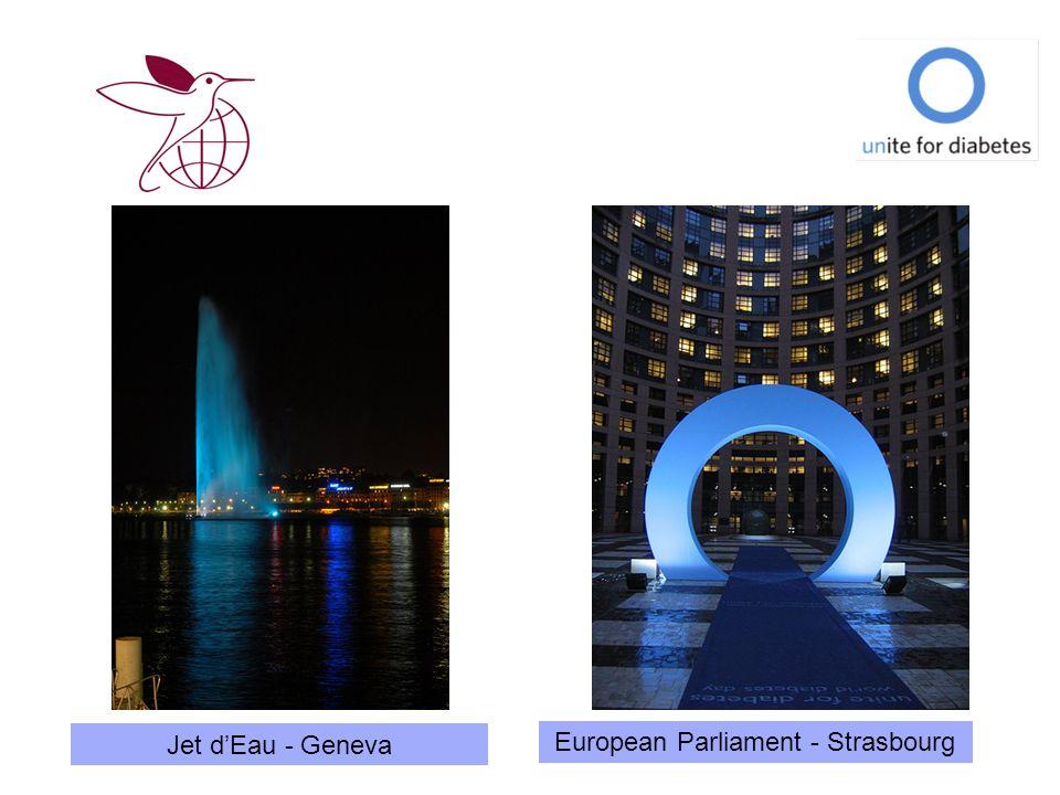 Jet dEau - Geneva European Parliament - Strasbourg