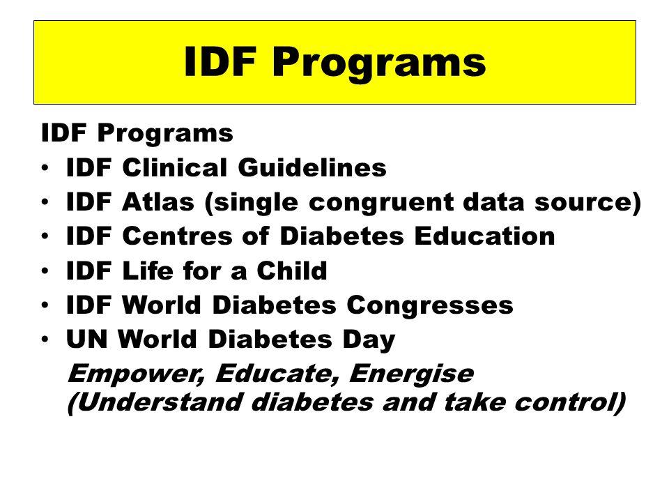 Diabetes Prevalence (20-79 yr) 2007 2025 Qatar 15.2% 16.9% Bahrain15.2% 17.0% UAE 19.5% 21.9% Saudi Arabia15.7% 18.4% Kuwait 14.4% 16.4% Oman13.1% 14.7% Yemen 2.9% 3.4% IDF Diabetes Atlas- 2006- National prevalence estimates